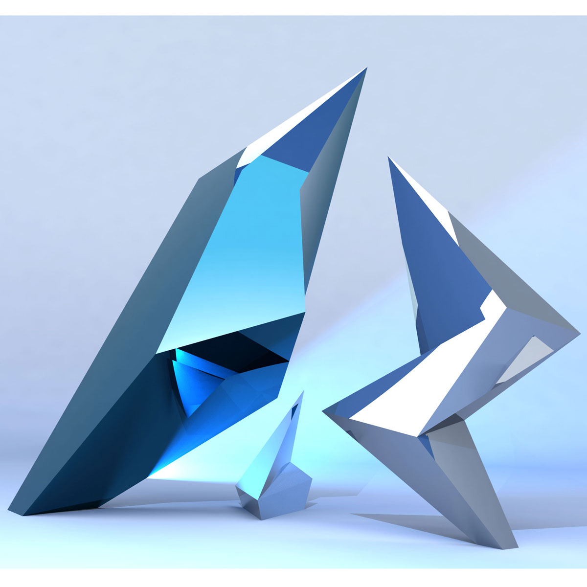 Jagged | Contemporary, Modern Interior Design Sculpture