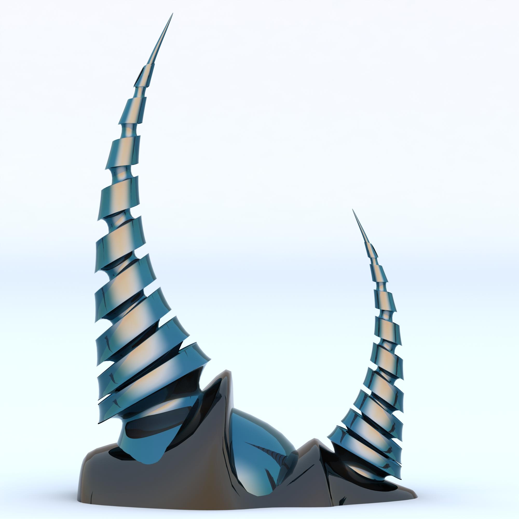 Alien spires contemporary modern interior design sculpture alien spires jeuxipadfo Images